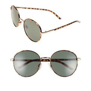Women's Brown Tort Sunglasses